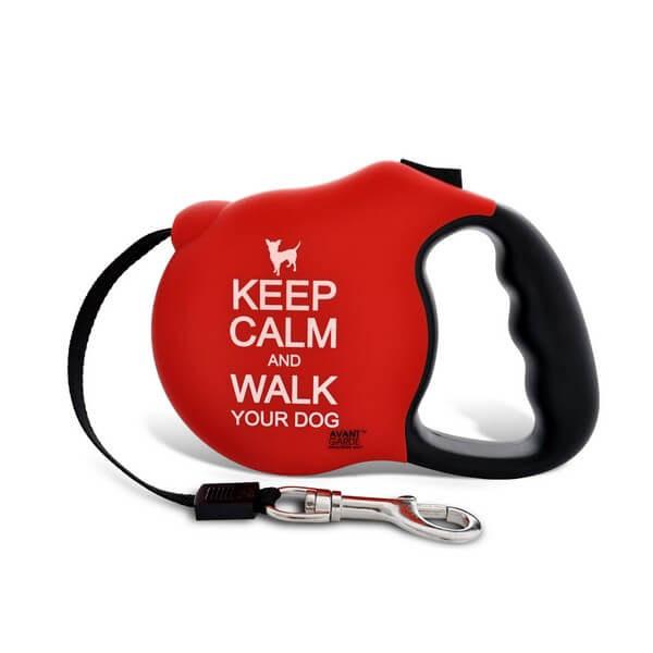 Voditka pre psov_Voditko Keep Calm profil